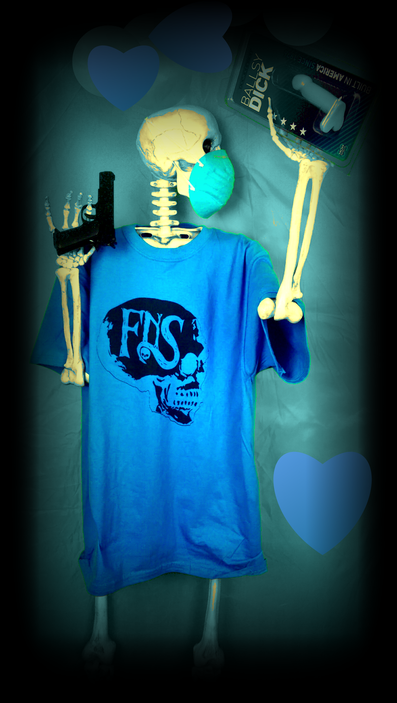 Image of fNS Blue Ballz Shirt