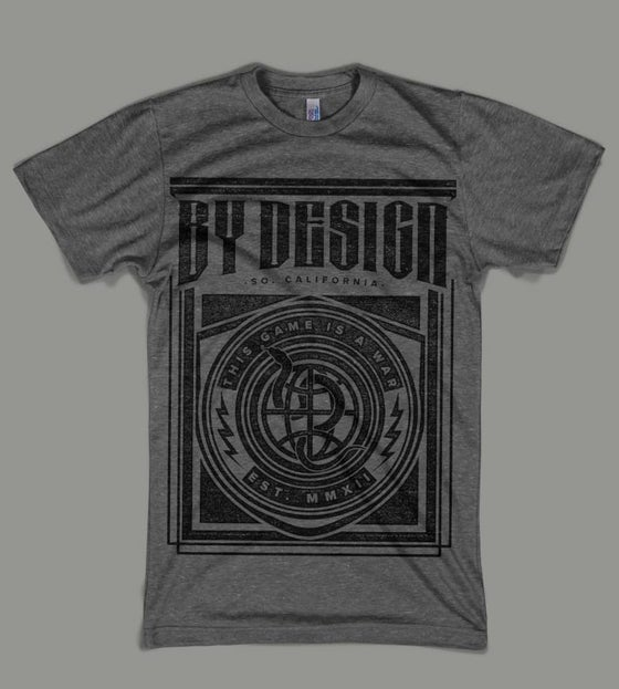 """Image of By Design """"This Game Is A War"""" T-Shirt"""