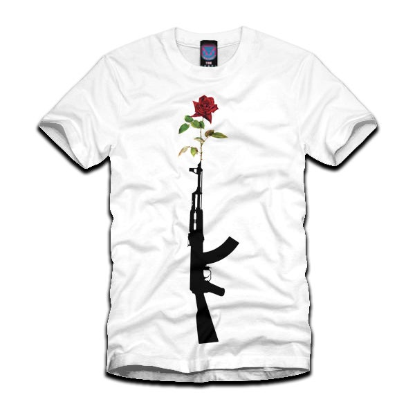 Image of 'Kill Them With Love II' Tee #GunRose