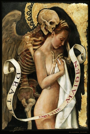 Image of 'Death and the Maiden'...large poster