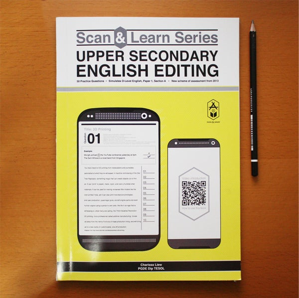 Image of Scan & Learn Series • Upper Secondary English Editing