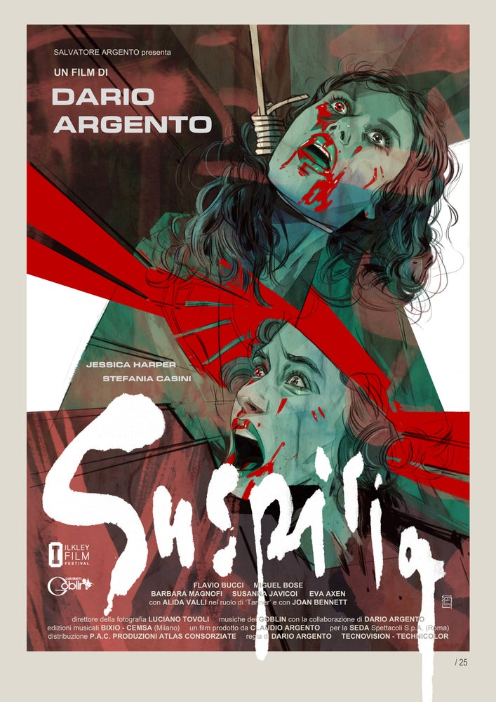 Image of Suspiria A3 Print Signed by me and Goblin