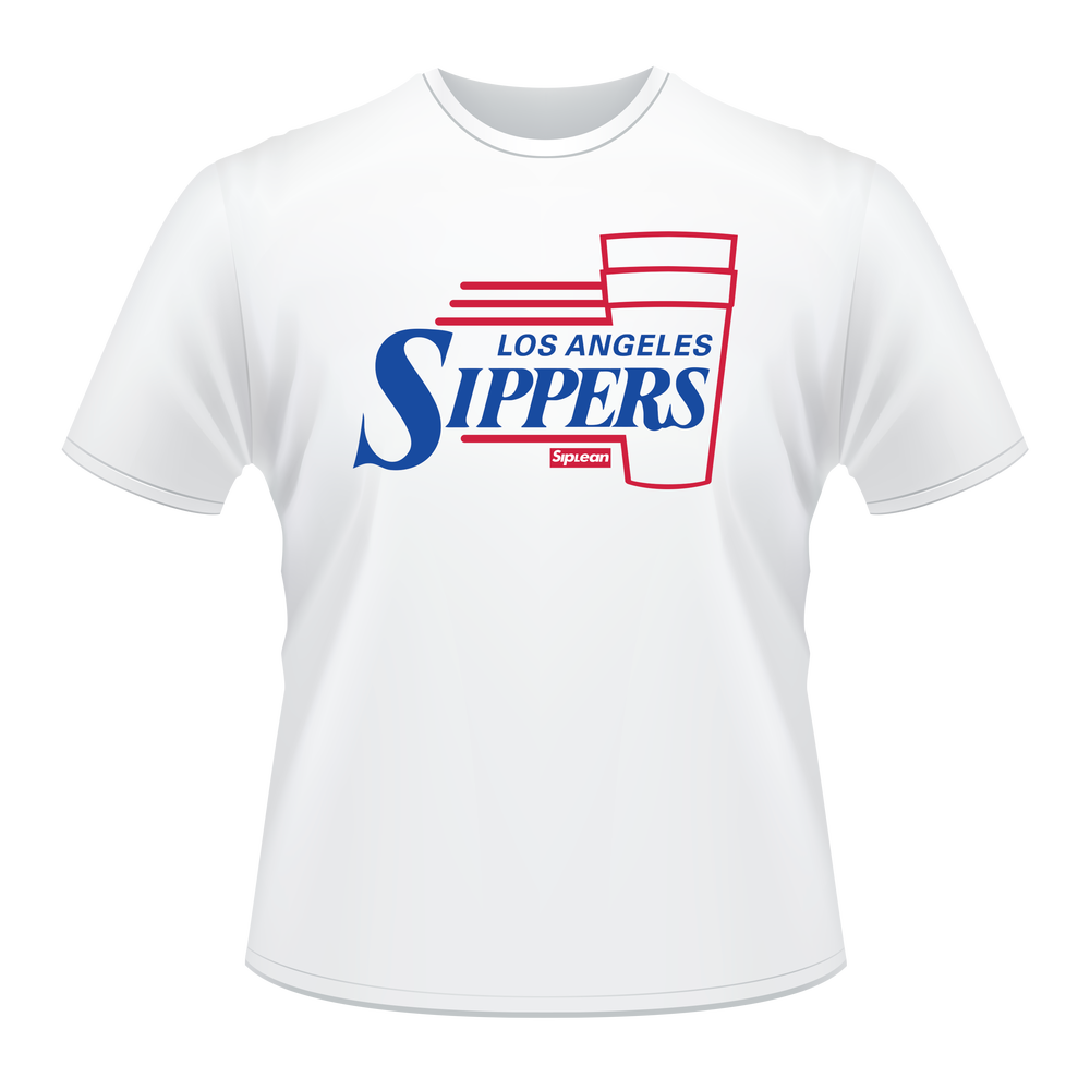 """Image of SipLean: """"LA Sippers"""" T-Shirt"""