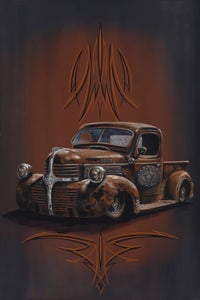 Image of 46 Dodge Rat / Metal Print