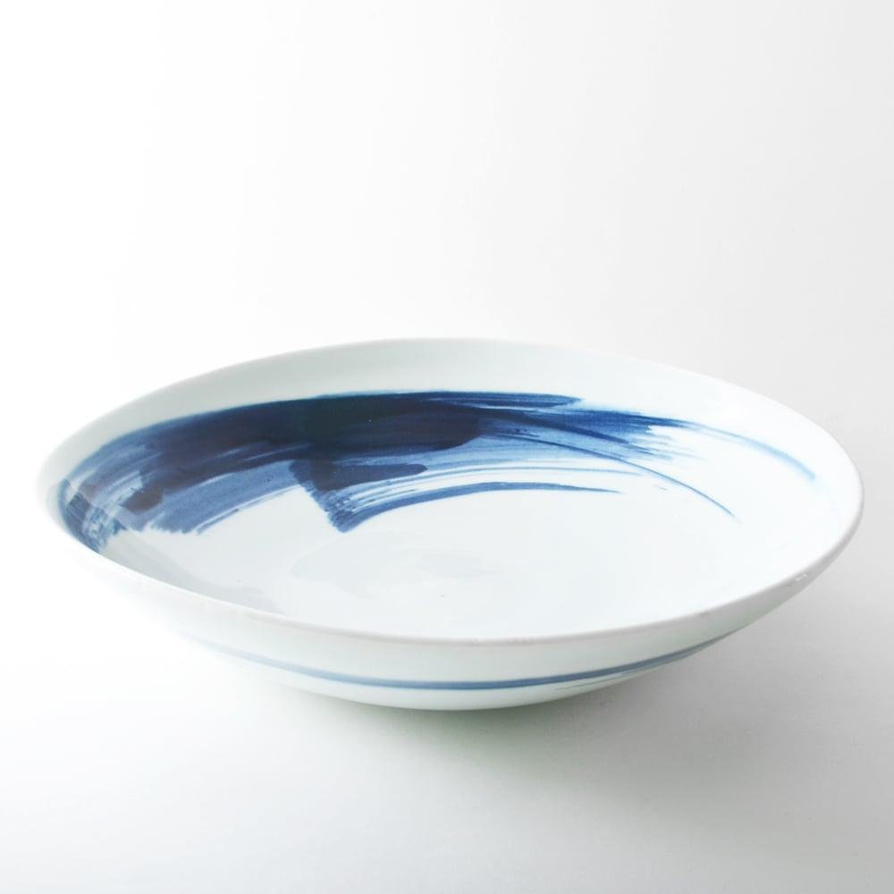 Image of porcelain shallow bowl