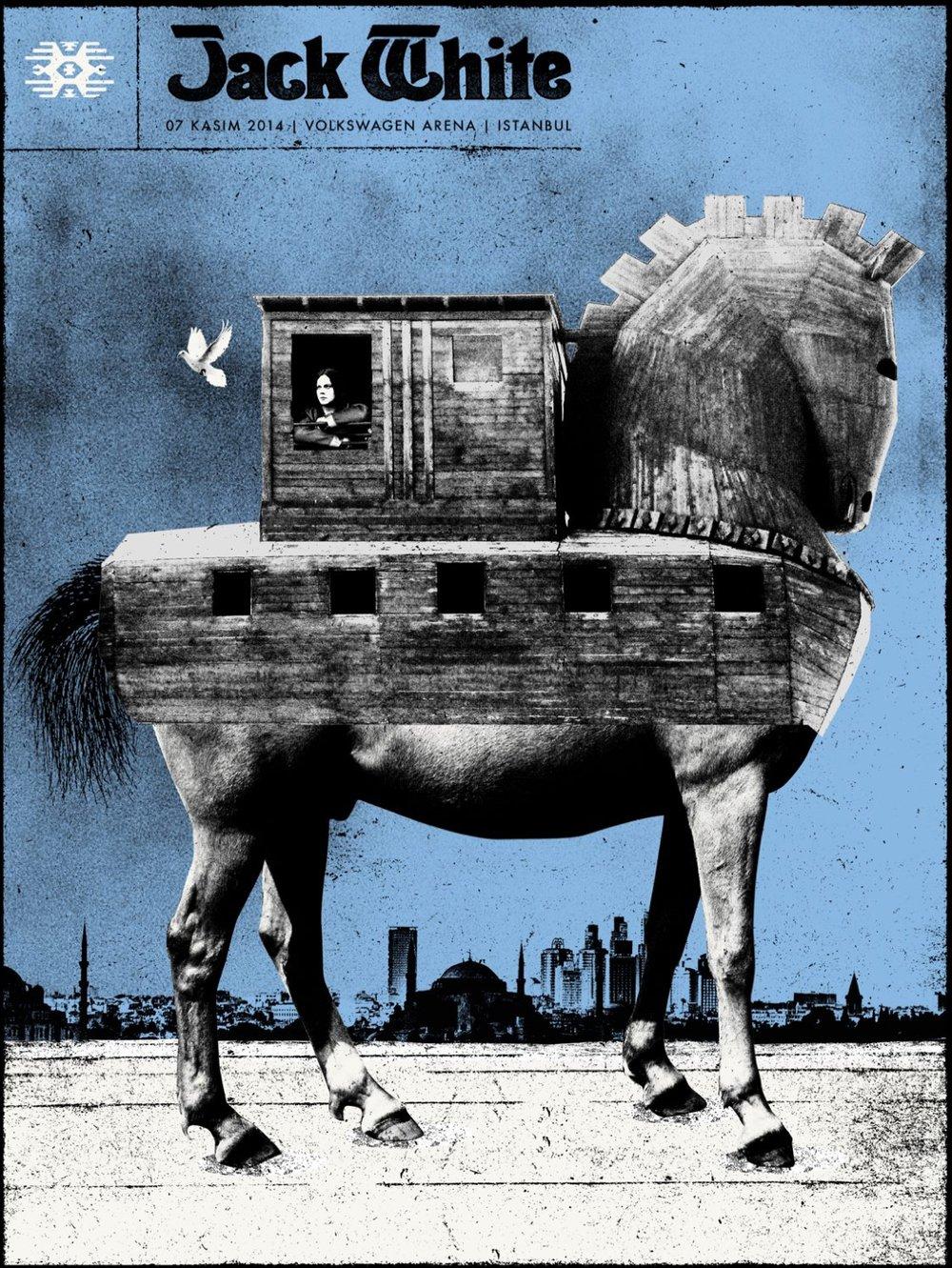 Image of Jack White / Istanbul / 2014