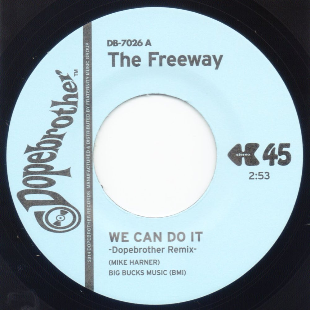 "Image of We Can Do It (Dopebrother Remixes) - 7"" Vinyl"