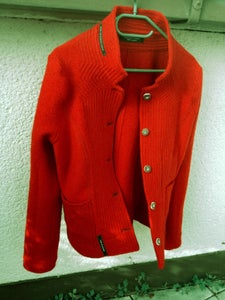 Image of loden jacket red WOMEN