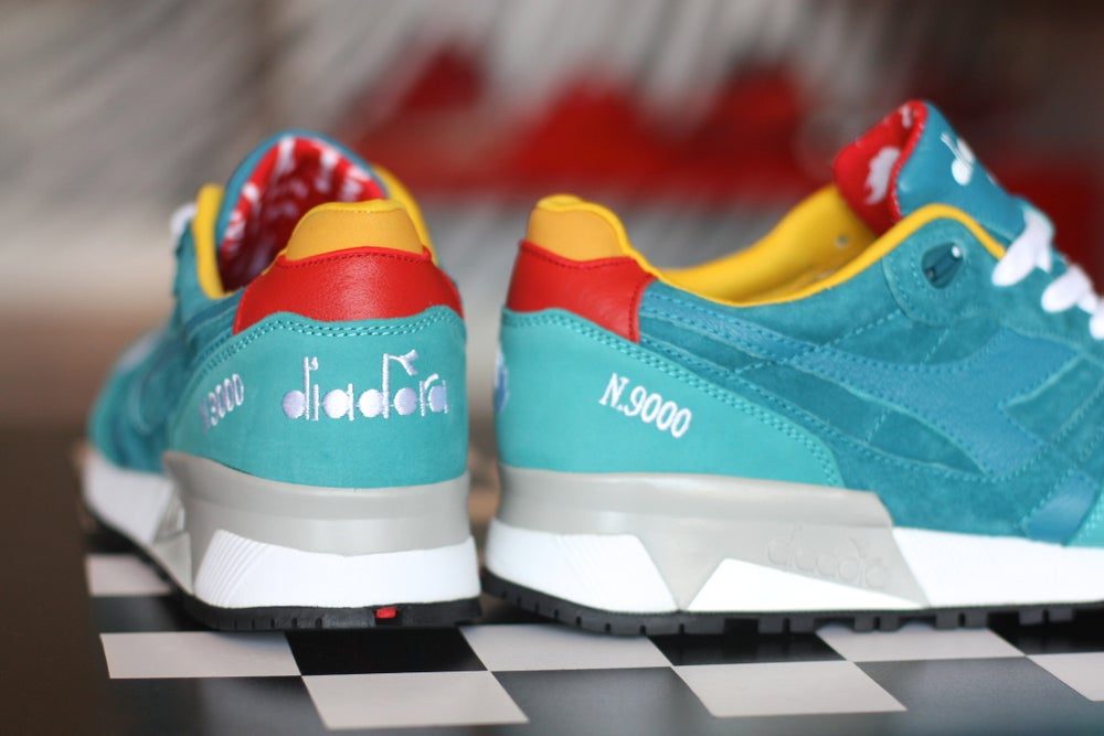 Image of Diadora N.9000 X HANON Saturday Special 'Transit II'
