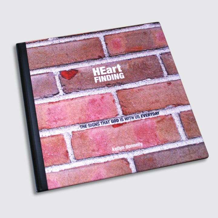 Image of HEart Finding book by artist kellyn donnelly 8x8