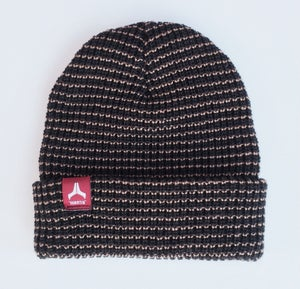 Image of ON SALE - Mantis Signature Team beanie Black / Red tag