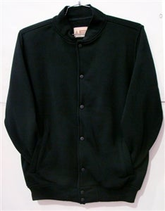 Image of fleece varsity jacket