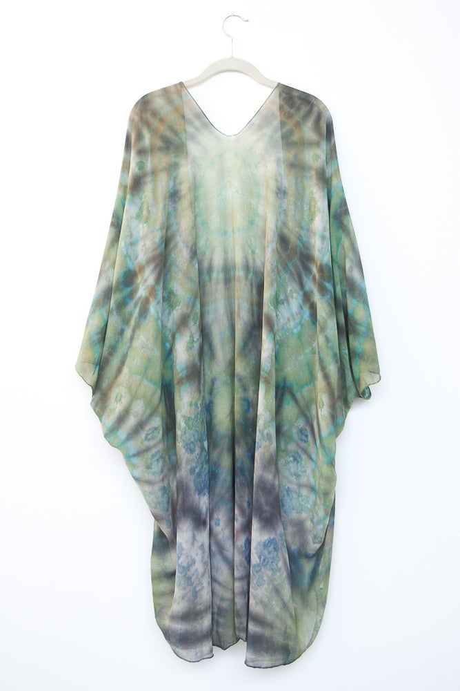 Image of Mother Earth Silk Kimono/Cape