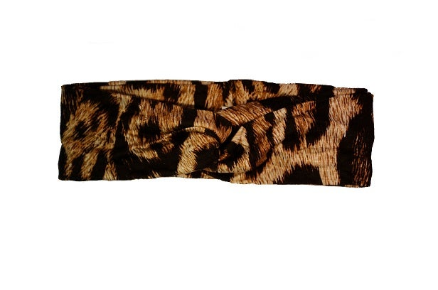 Image of FANCY Leopard Print Turband