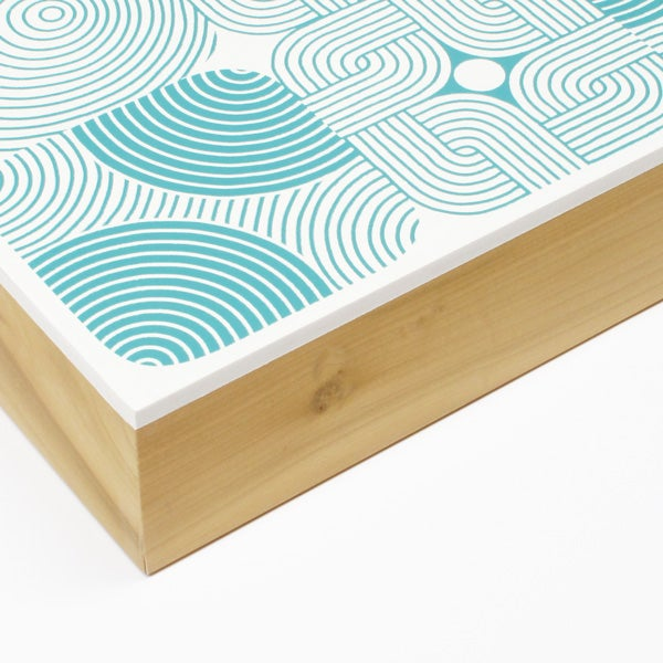 Image of Kah-o-shun Wood Panel – Turquoise