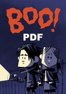 Image of BOO Comic PDF