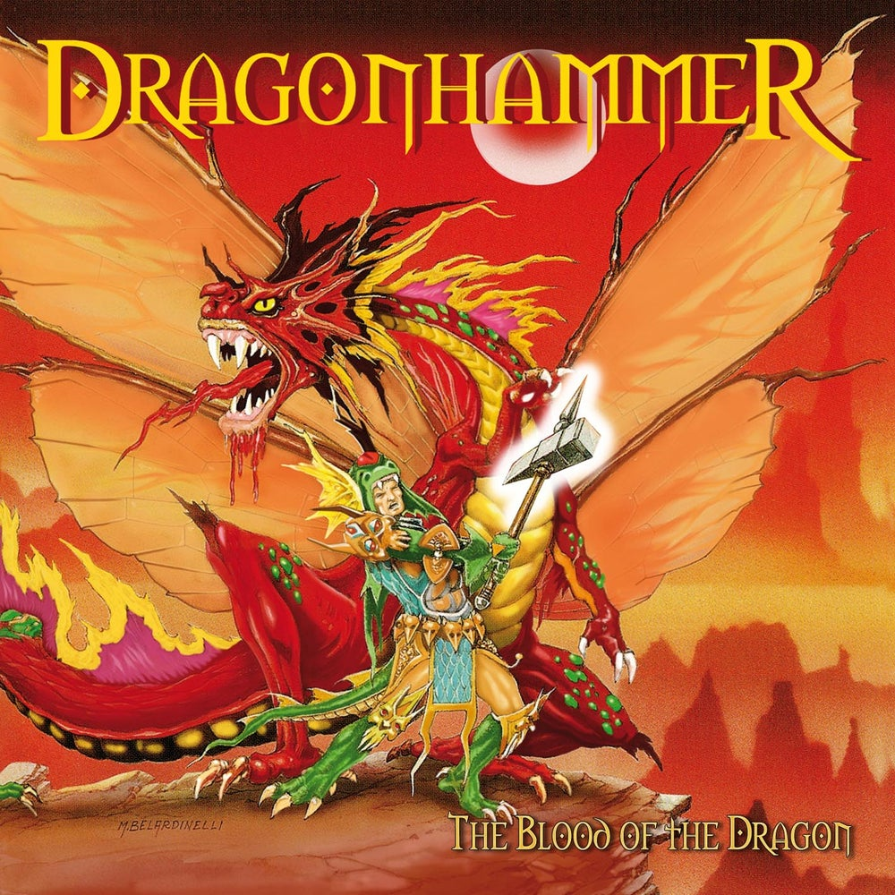 "Image of DRAGONHAMMER ""The Blood Of The Dragon (MMXV edition)"" CD"