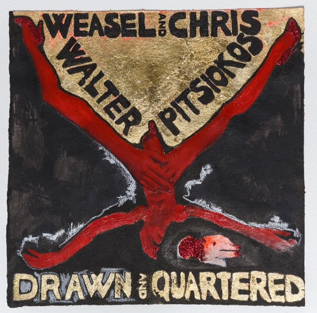 "Image of Weasel Walter & Chris Pitsiokos ""Drawn and Quartered"" LP (OH0004)"