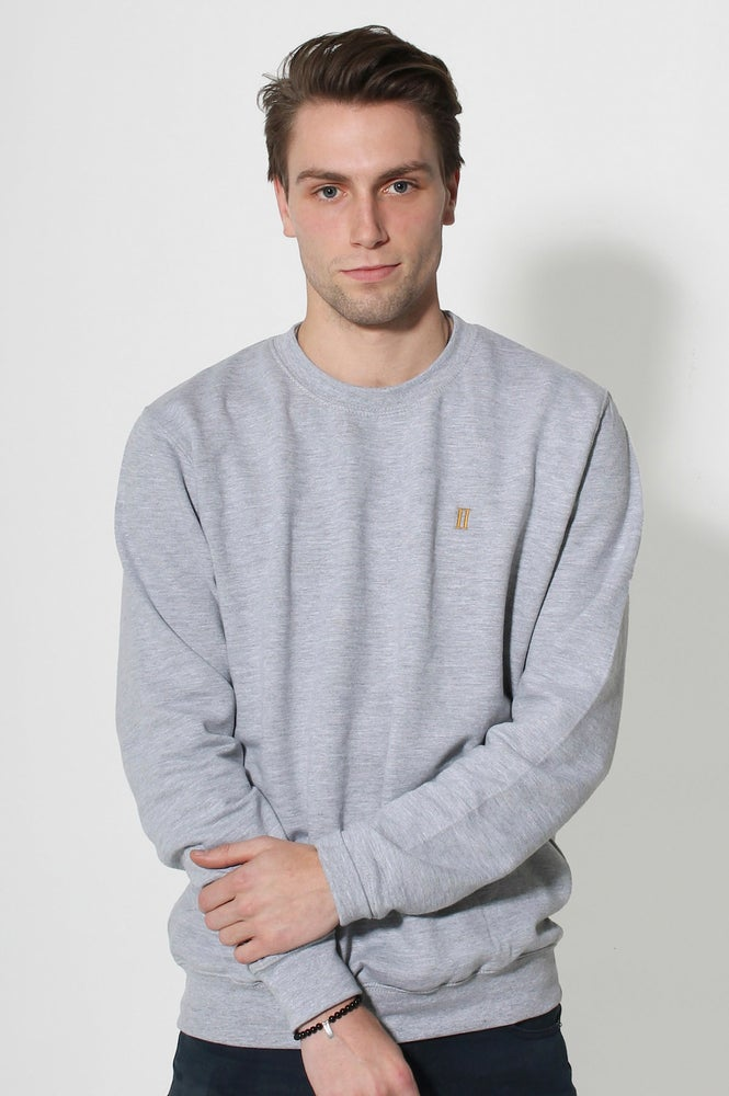 Image of Idoneus Ideals Triblend Sports Grey Jumper