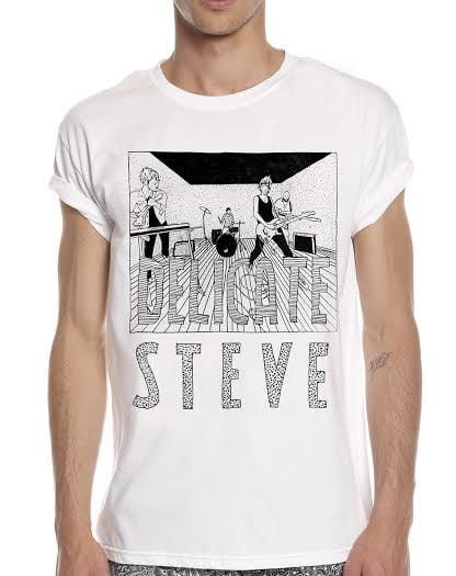 Image of Delicate Steve Revolver Tee