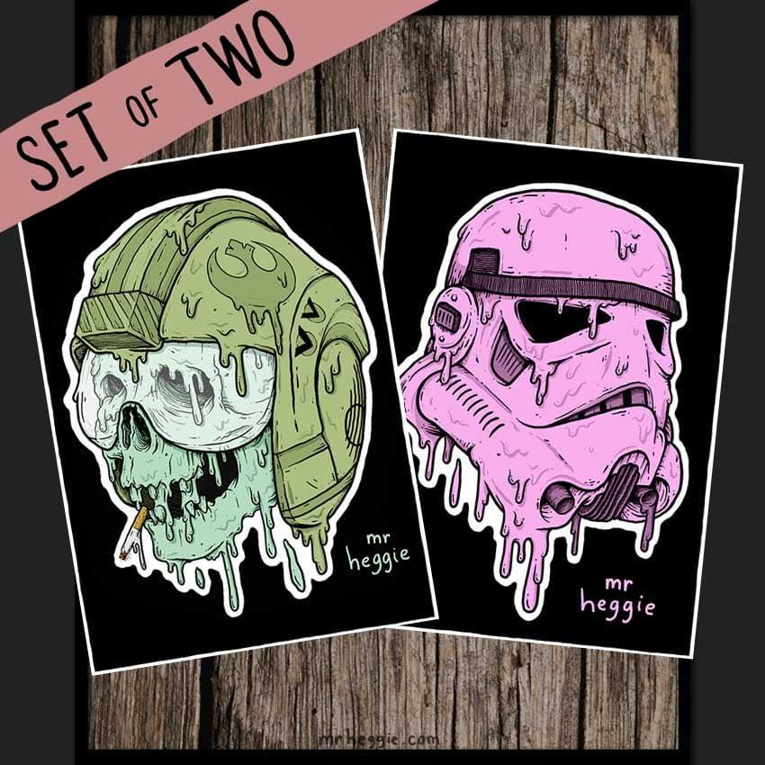 Image of The Star Wars Art Prints