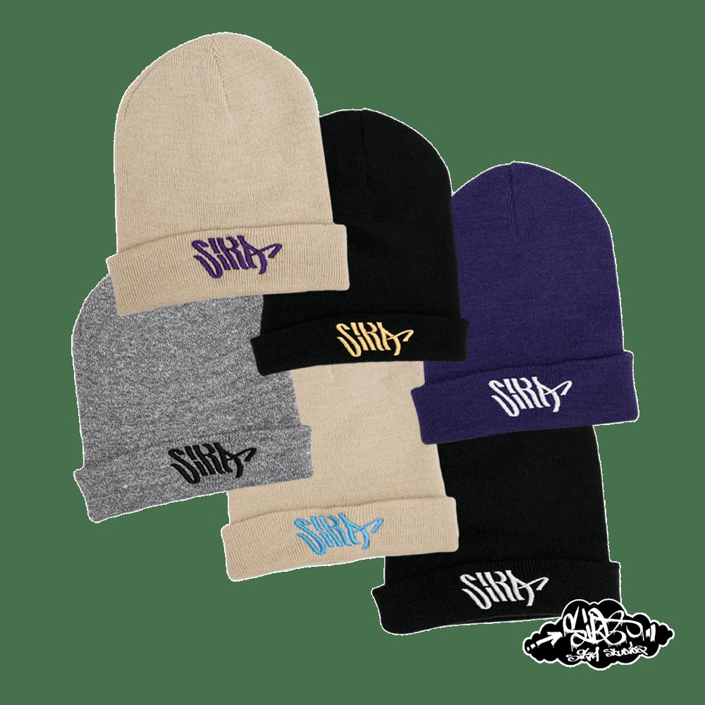SIKA flow logo beanie hats