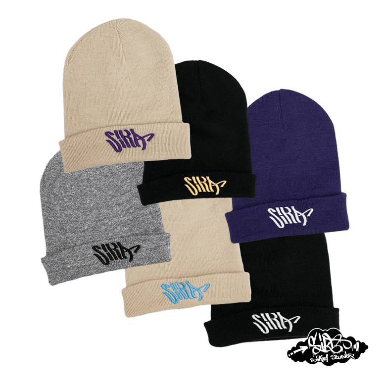 Image of SIKA flow logo beanie hats