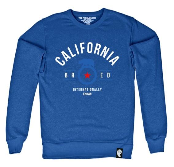 Image of Cali Bred (LA) Royal Crewneck