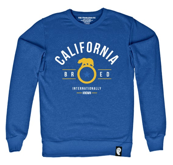 Image of Cali Bred (GS) Royal Crewneck