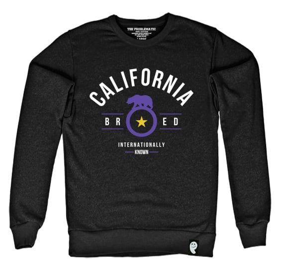Image of Cali Bred (LAK) Black Crewneck