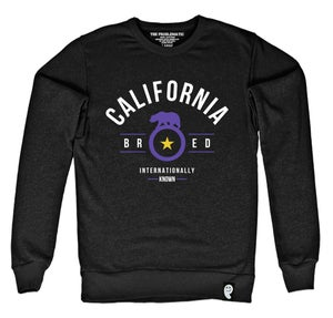 Image of Cali Bred (LAK) Black Crewneck