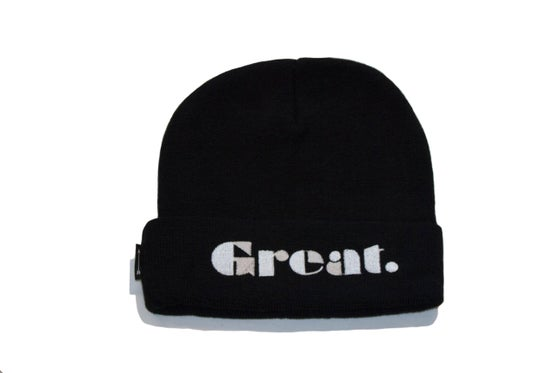 Image of Simply Great Beanie (Black)