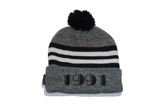 Image of 1991 Beanie (Hther/Blk/Wht)