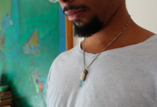 Image of Aqua Aura 2 - Sterling Silver