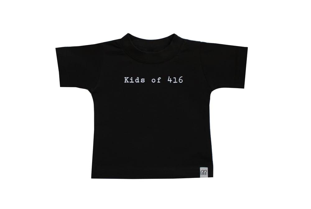 Kids of 416 T-shirt *Black