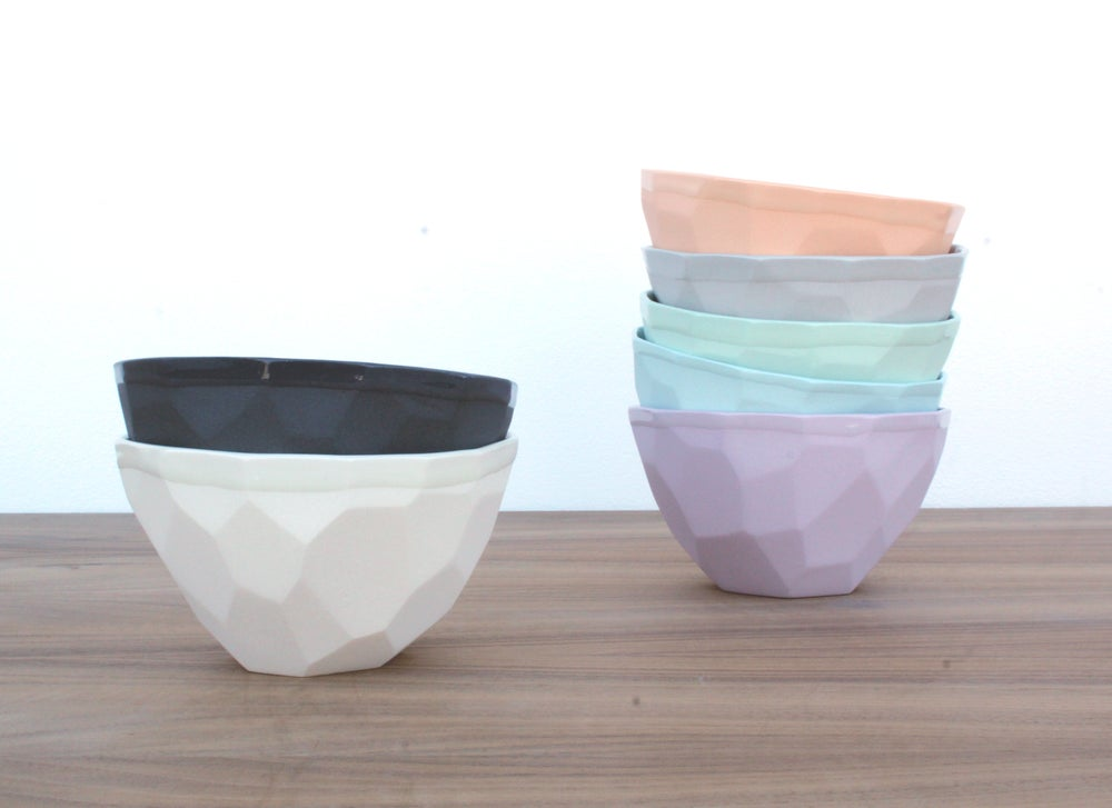 Image of geo ice cream bowl