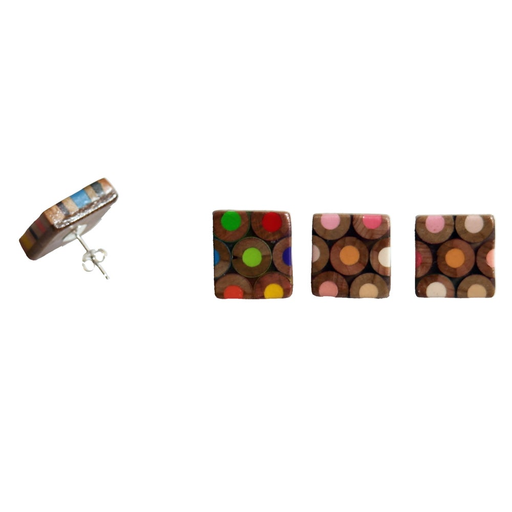 Image of square earrings