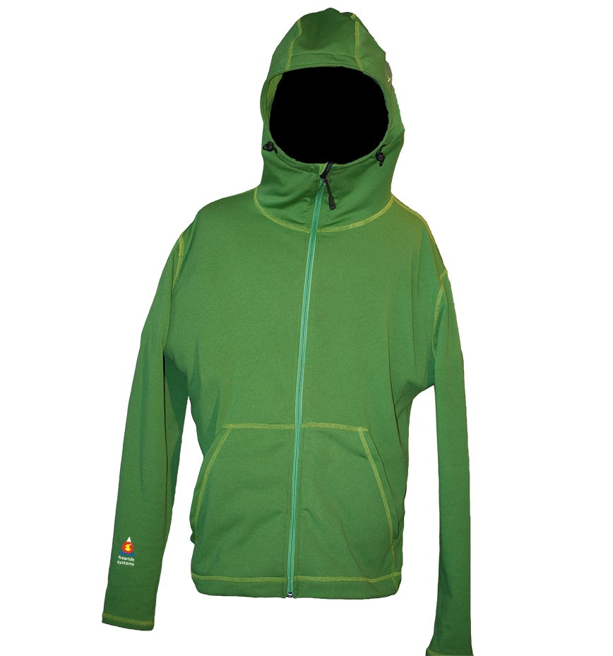 Image of The Sneffles Powerdry Zip Hoodie Best Midlayer Ever