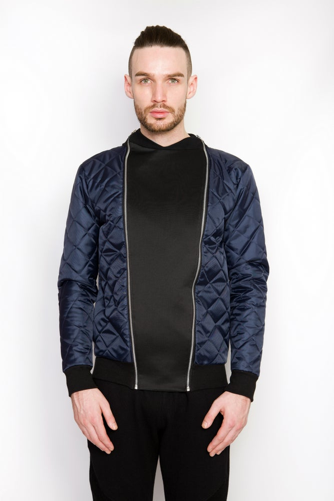 Image of Ⅲ Elegas Reversible Bomber Jacket IV