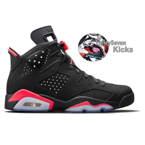 "Image of Jordan Retro 6 ""Black Infrared"" Preorder"