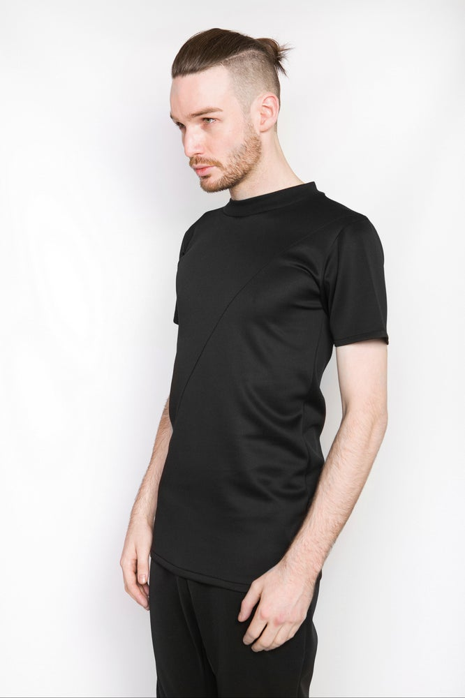 Image of Ⅲ Blackout Neoprene T-Shirt