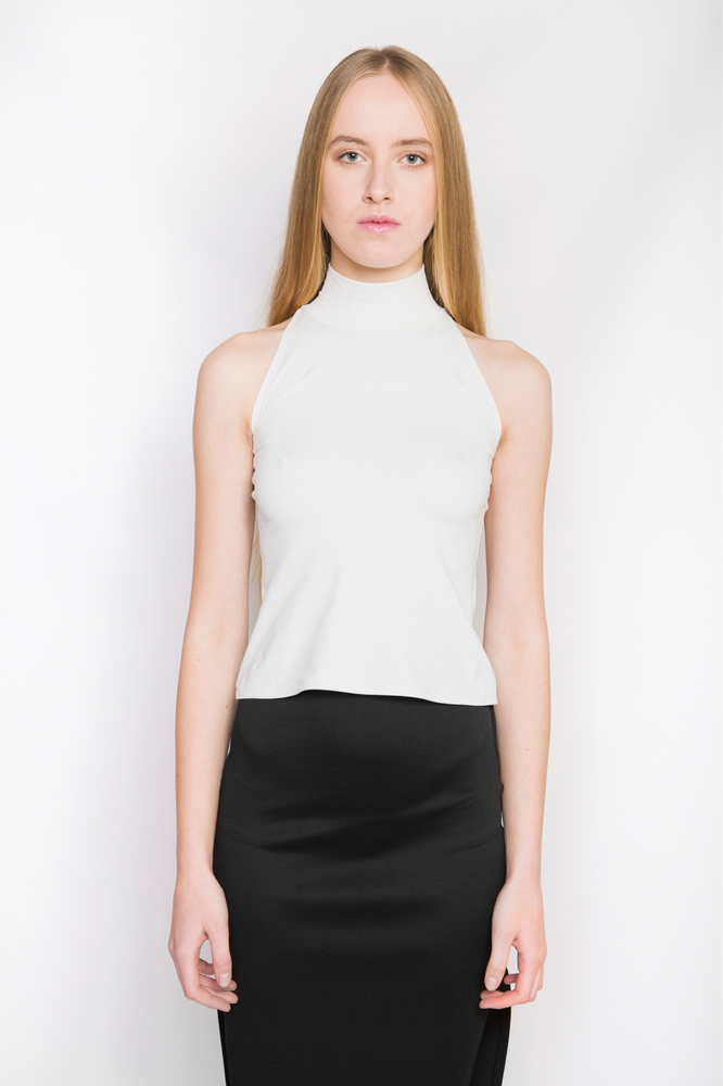 Image of Ⅲ Turtle Neck Under Vest Top
