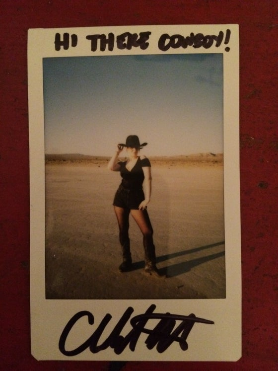 Image of Signed Polaroid
