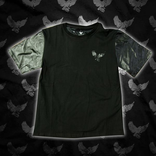 Image of Leather Cut & Sew T-Shirt (Limited Edition)