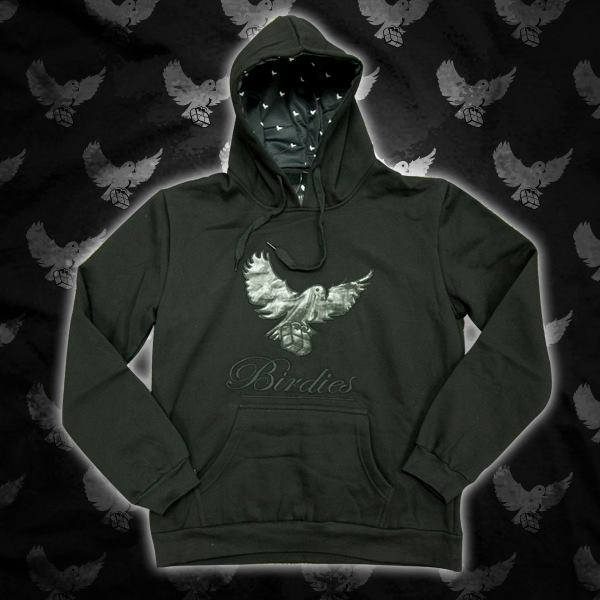 Image of Leather Cut & Sew Hoodie (Limited Edition)