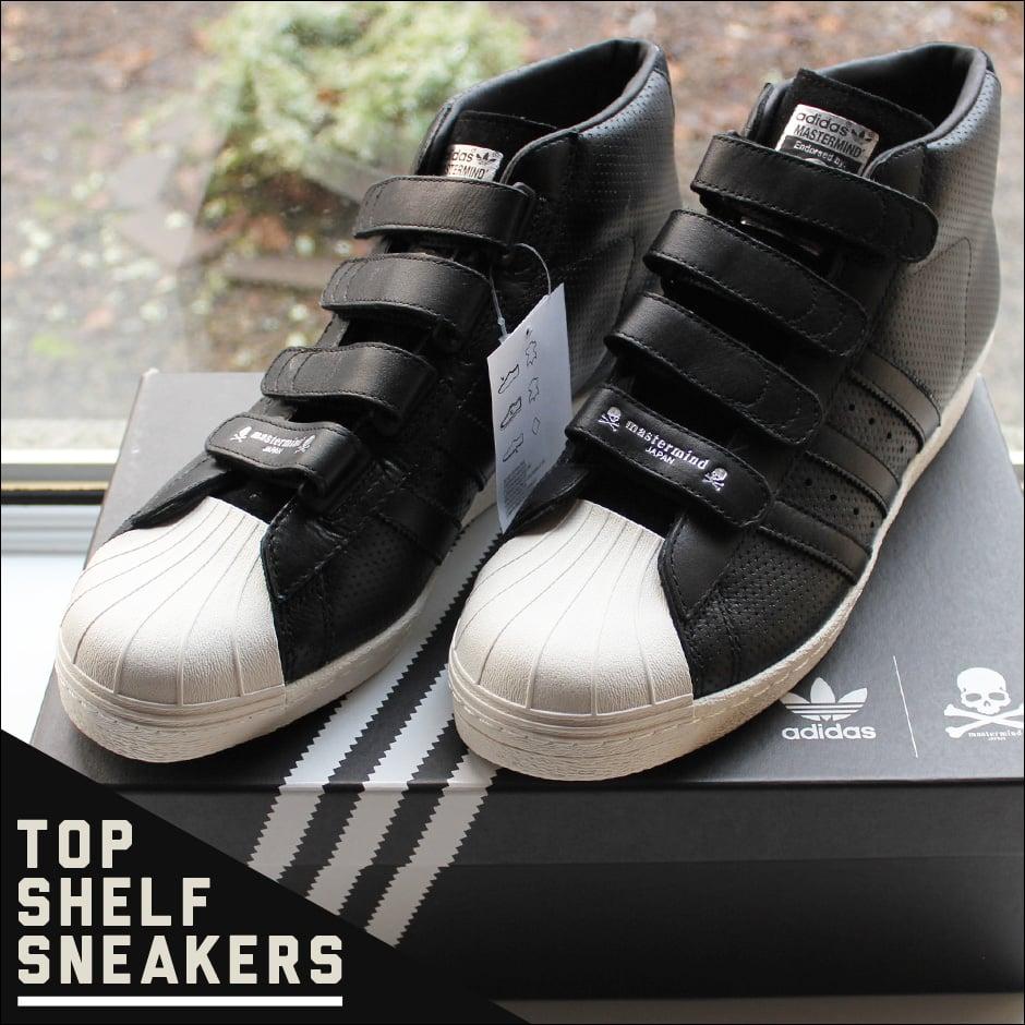 low priced 4d6d9 a4e57 Adidas Originals x Mastermind Japan Promodel CMF