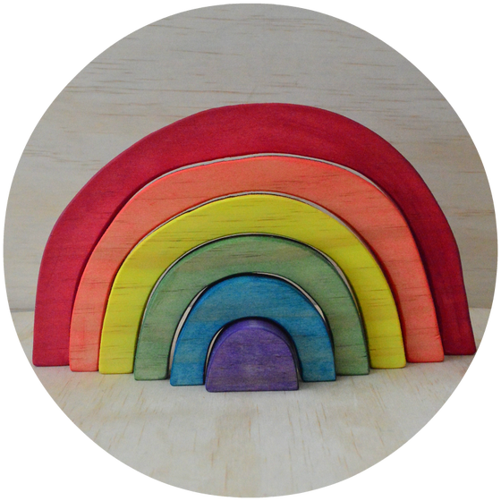 Image of Rainbow Stacker