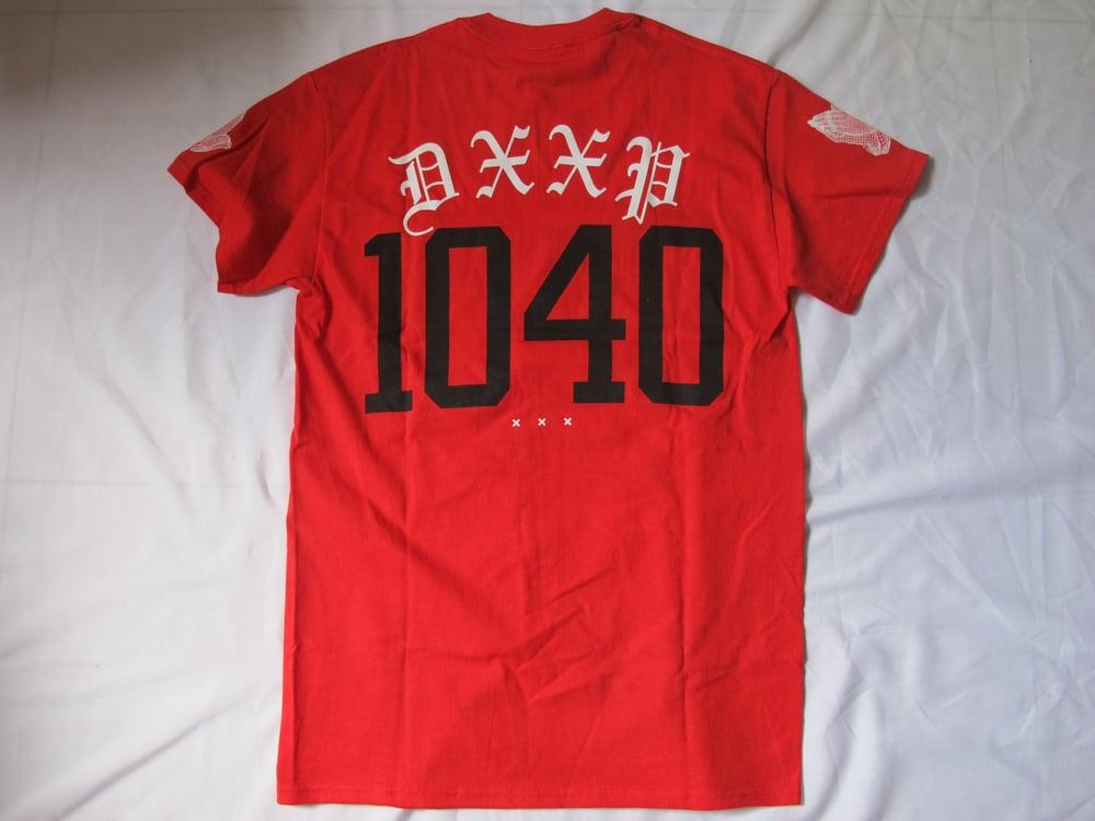 Image of 10 Deep x 40 oz NYC : 10-40 Tee (Red)