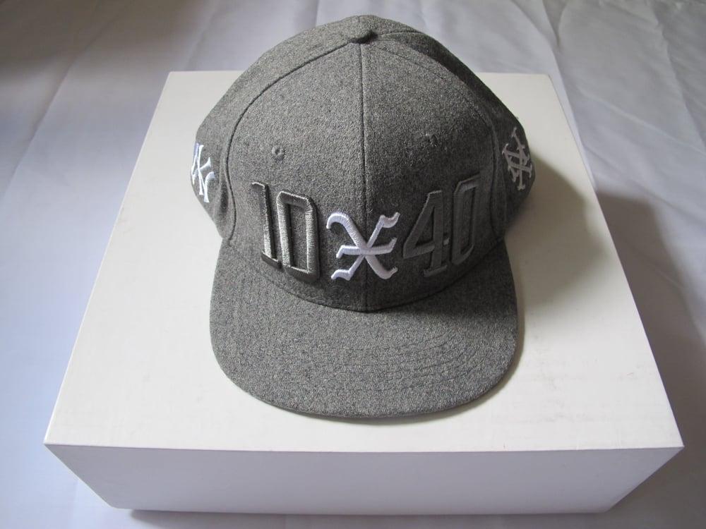 Image of 10 Deep x 40 oz NYC : 10-40 Snapback (Grey)