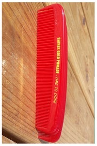 Image of 3 SHINER GOLD COMBS
